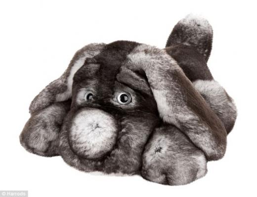 토끼털로 만든 200만원짜리 강아지 인형…이게 명품인가요?