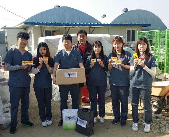 울지마마이펫, 건국대 수의대 학생들과 유기견 보호소 봉사활동