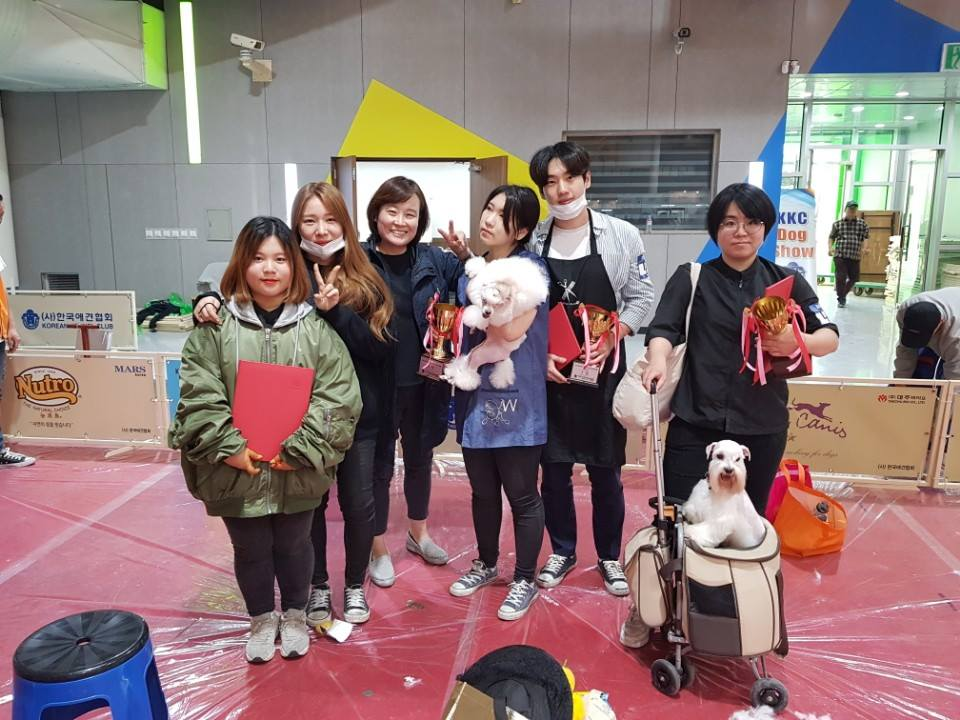 사진=KKC 스타일리스트 경연대회 수상 사진
