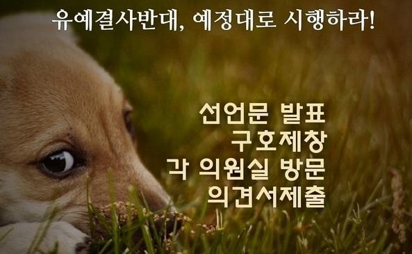 """동물단체 """"가축분뇨법 실시 유예 반대, 예정대로 시행하라"""""""