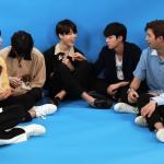 방탄소년단, 댕댕이들과 함께 한 아주 행복한 인터뷰